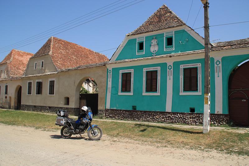 Little Saxon town