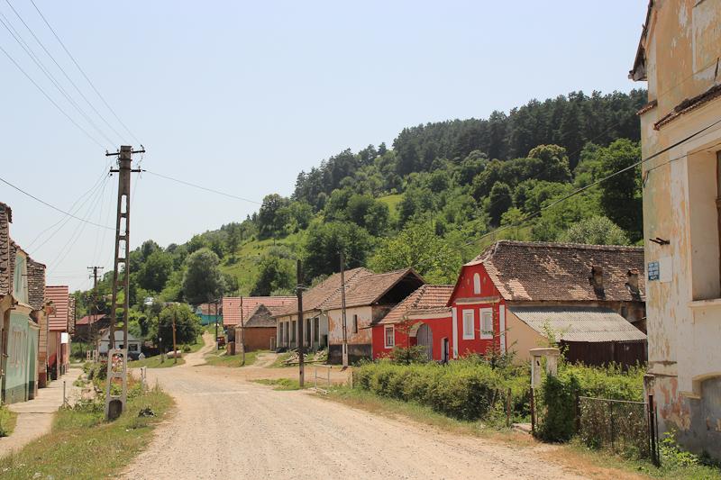 Sleepy Saxon town
